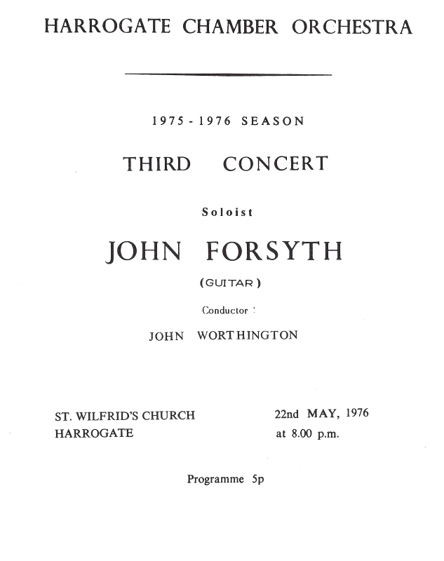 A Life With Music John Forsyth Music